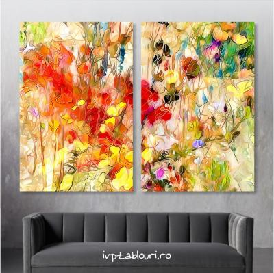 Tablou multicanvas abstract ABS207
