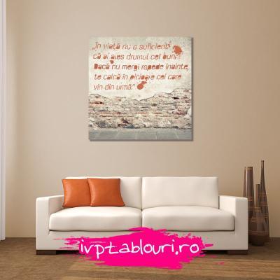 Tablou canvas cu mesaje MES108