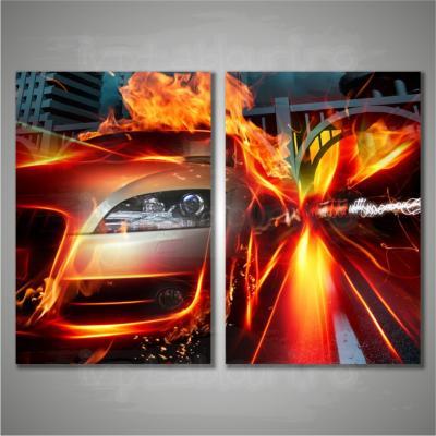 tablou multicanvas abstract ABS200