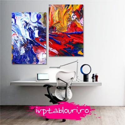 Tablou multicanvas abstract ABS206