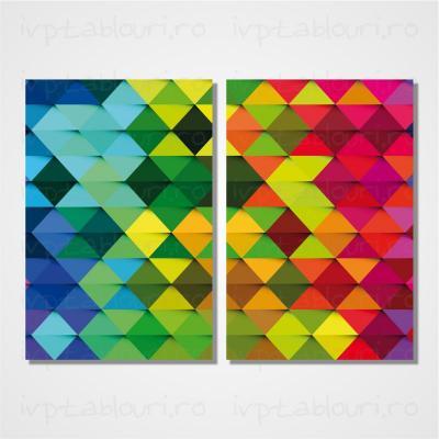 Tablou multicanvas abstract ABS208-A