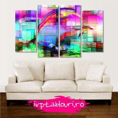 tablou multicanvas abstract ABS400