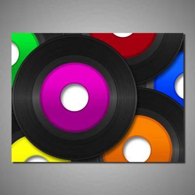 Tablou canvas muzica si film MUZ100-A