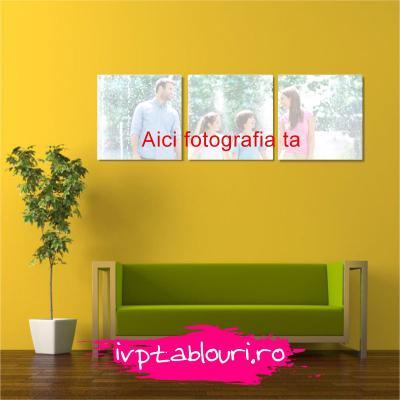 Tablou canvas personalizat Patrat-3