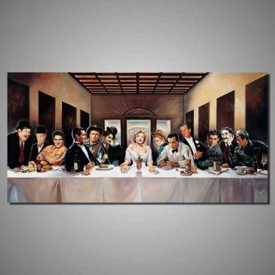 tablou canvas celebritati VIP100-A